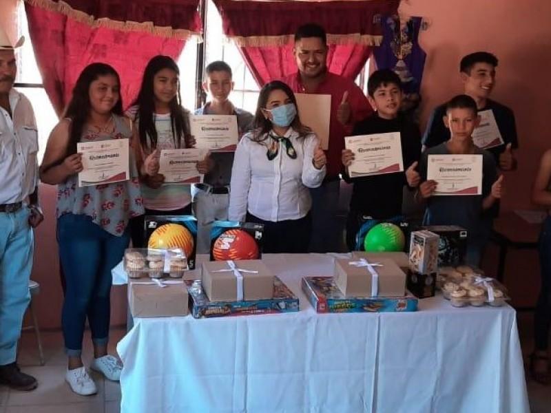 Un éxito Expo Recicla en el ejido Francisco Márquez