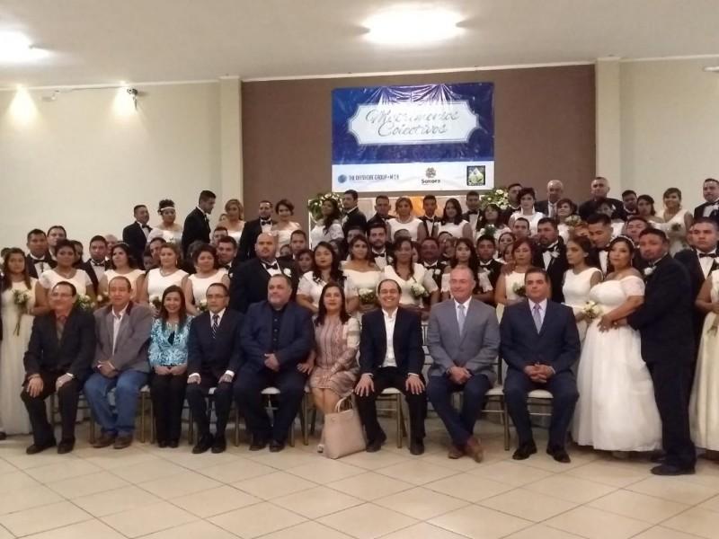Un éxito programa de Matrimonios Colectivos