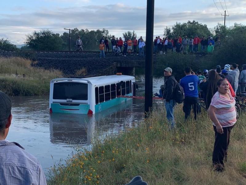 Un fallecido y  10 viviendas inundadas