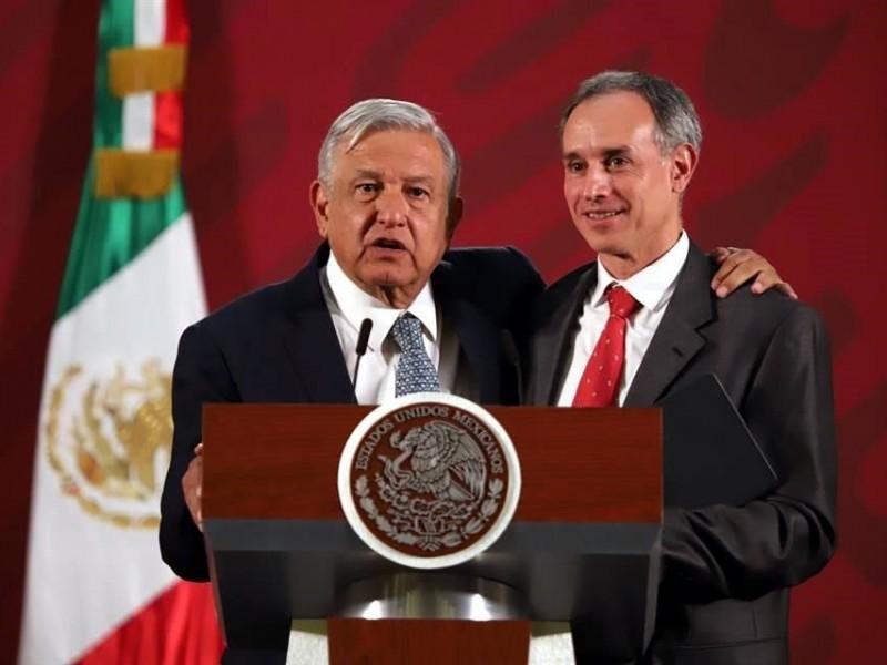 Un honor acercamiento de la OMS con López Gatell: AMLO