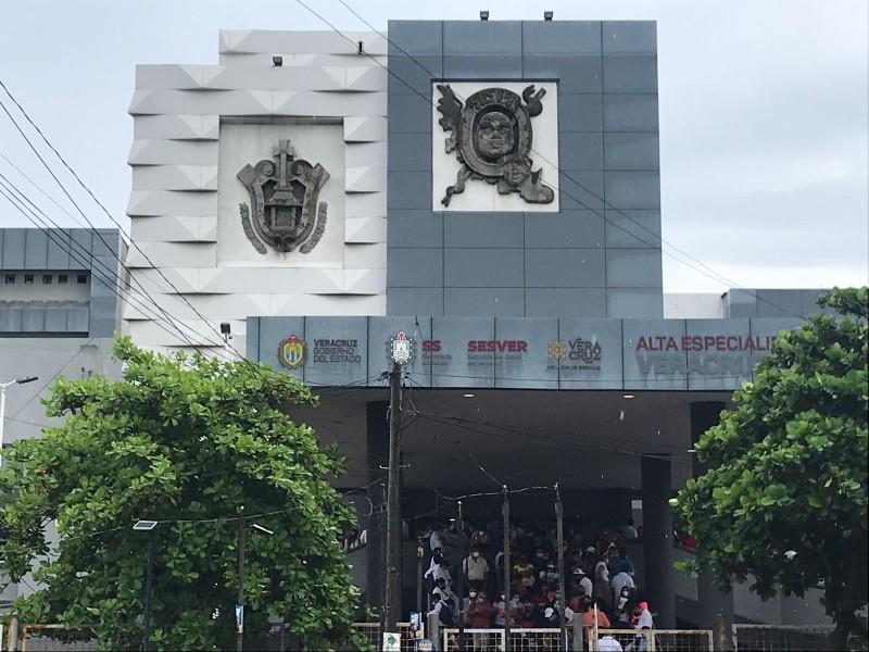 Un hospital al 100% de ocupación en camas en Veracruz
