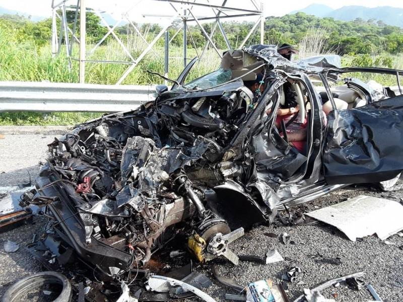 Un muerto en accidente en autopista Arriaga-Tuxtla