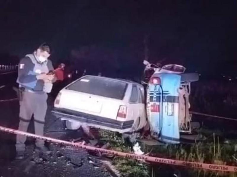 Un muerto tras accidente en la Amozoc-Nautla