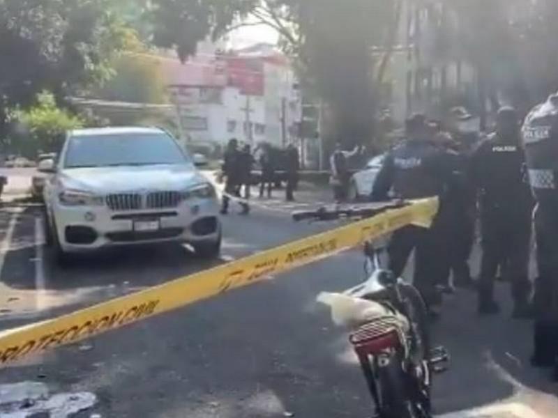 Un muerto y dos heridos en balacera de la Nápoles