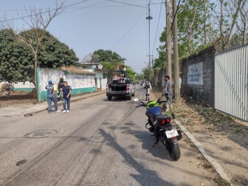 Un muerto y un herido durante tiroteo en Tuxtepec