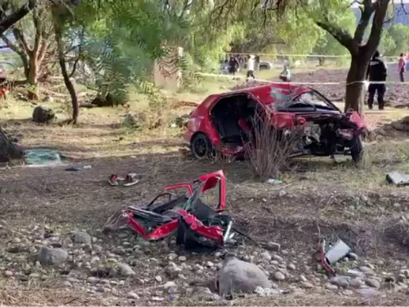 Un muerto y un herido en terrible accidente en Buenavista