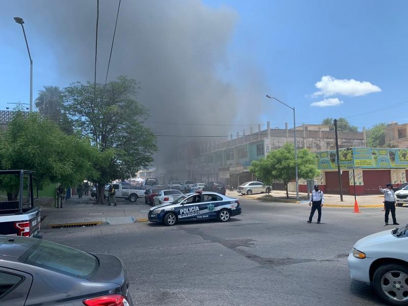 Una falla eléctrica provocó incendio del Centro Dulcero