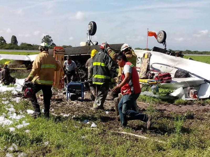 Una persona fallecida tras desplome de avioneta en Durango