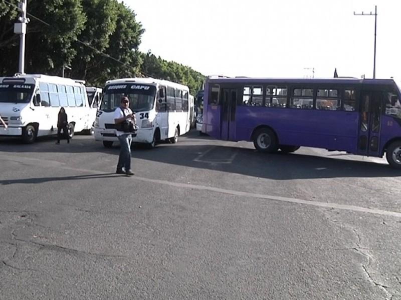 Únicamente el 50% del transporte público ha remodelado unidades