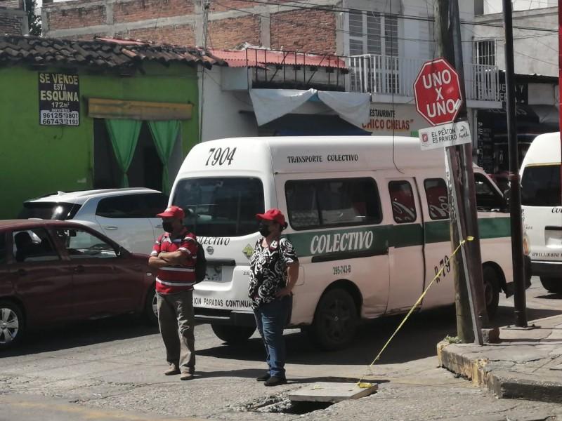 Unidad involucrada en accidente excedía 10 años permitidos