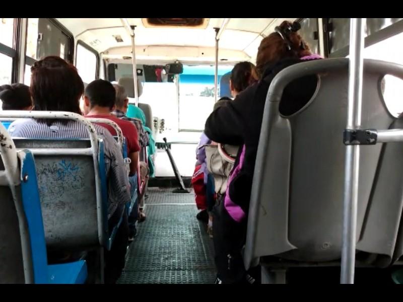 📹Unidades de transporte público aplicarán medidas contra el Covid-19