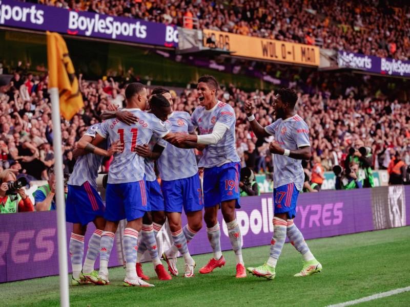 United, aún sin Cristiano Ronaldo, saca triunfo ante Wolves