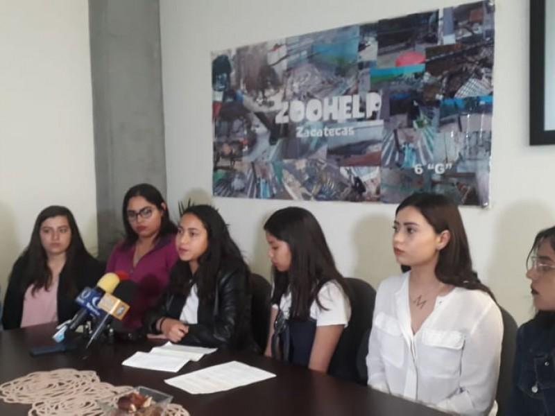 Universitarios señalan malos tratos en zoológico La Encantada