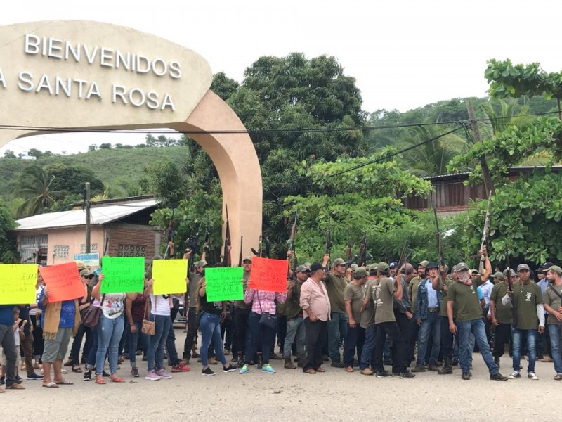 UPOEG Petatlán da ultimátum, piden presencia de PASB