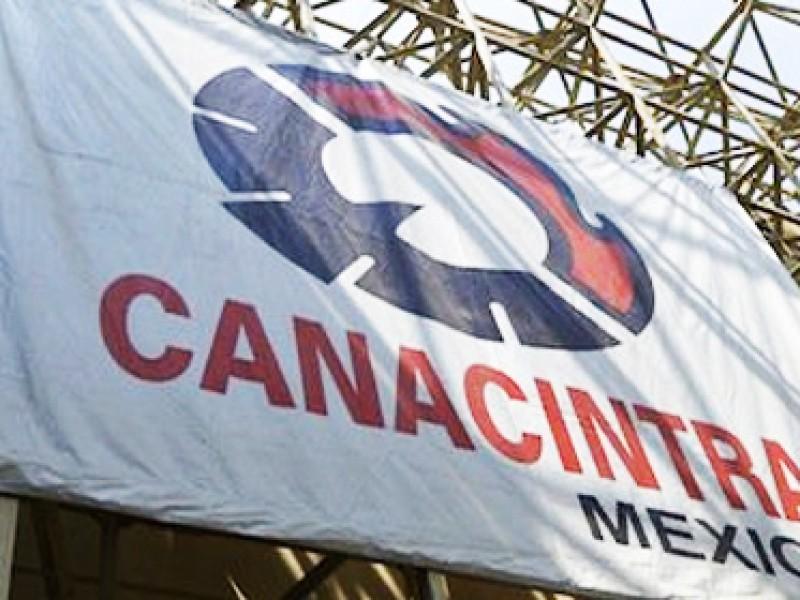 Urge CANACINTRA acuerdo de emergencia económica