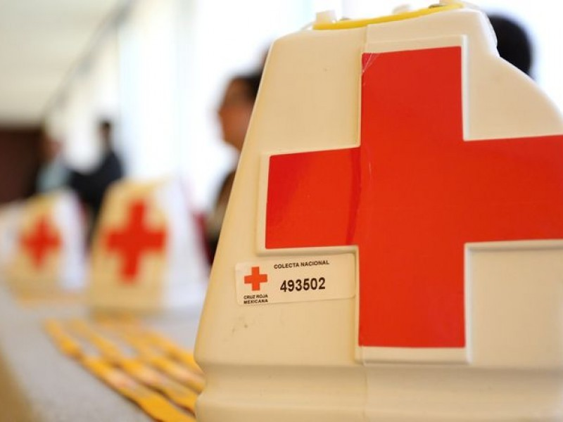 Urge colecta anual para rescate de Cruz Roja