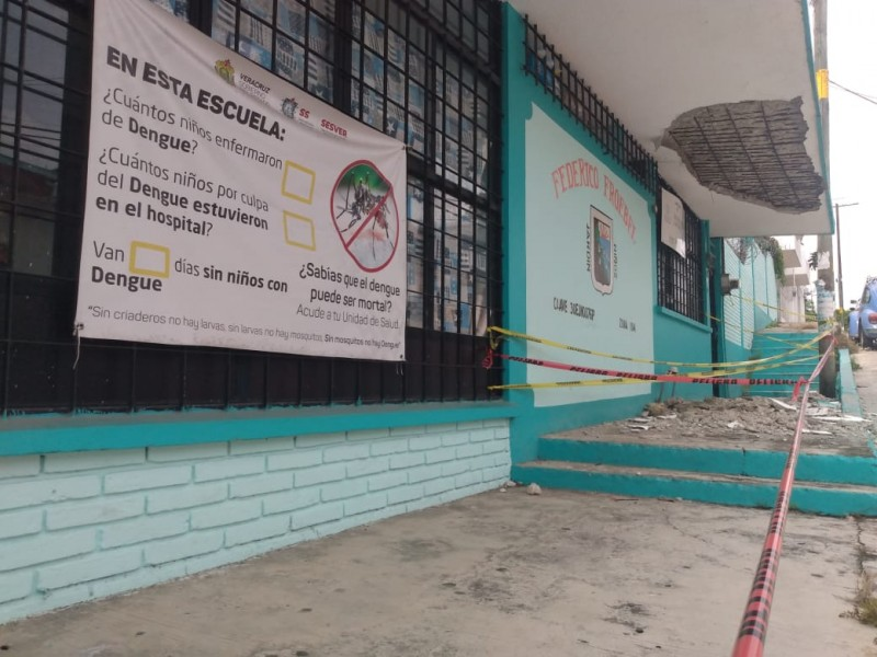 """Urge mantenimiento en Jardín de Niños """"Federico Froebel"""""""