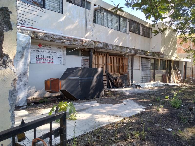 Urgen apoyos para reconstrucción y mantenimiento de Cruz Roja Zamora