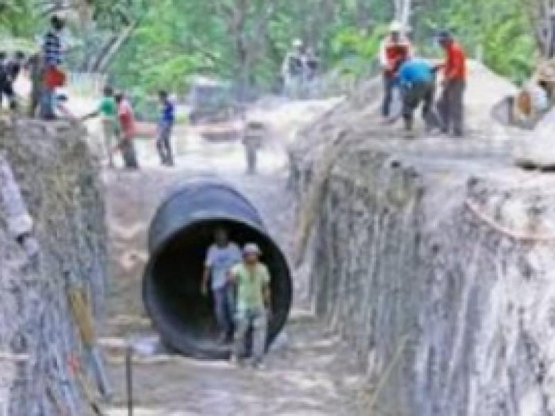 Urgen obras de drenes pluviales en Tuxtla Gutiérrez