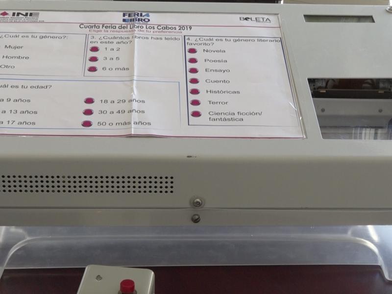 Urnas electrónicas como prototipo para próximas elecciones