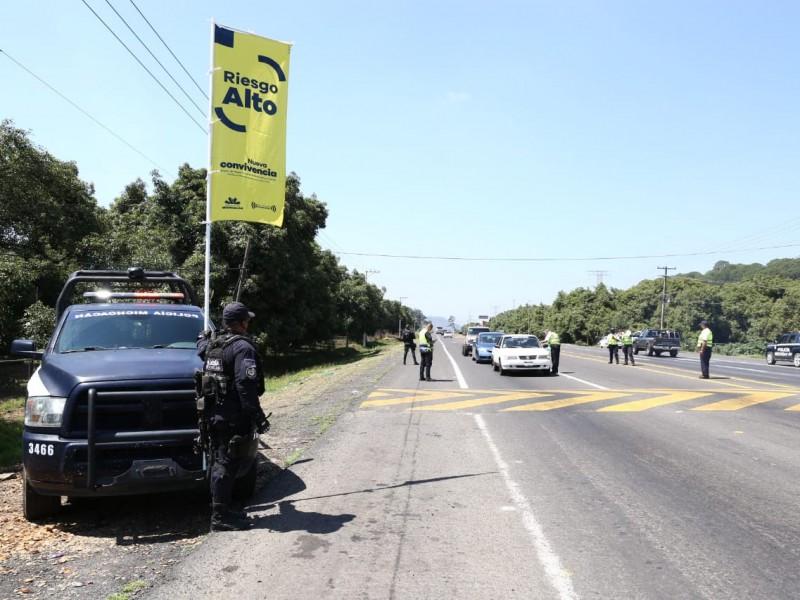 Uruapan y Lázaro Cárdenas regresan a bandera amarilla