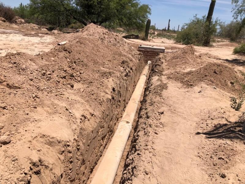 Usarán fuerza pública a quien obstruya obra pública de drenaje
