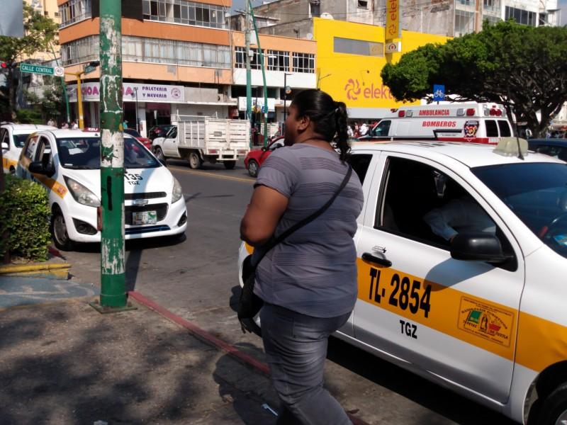Usuarios del transporte demandan mejores servicios
