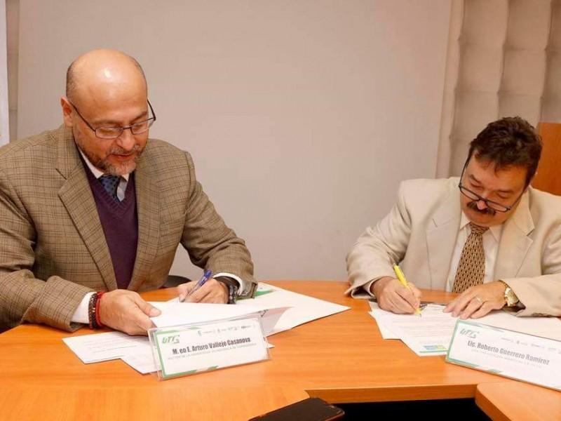 UTC firma convenio de colaboración con hotel