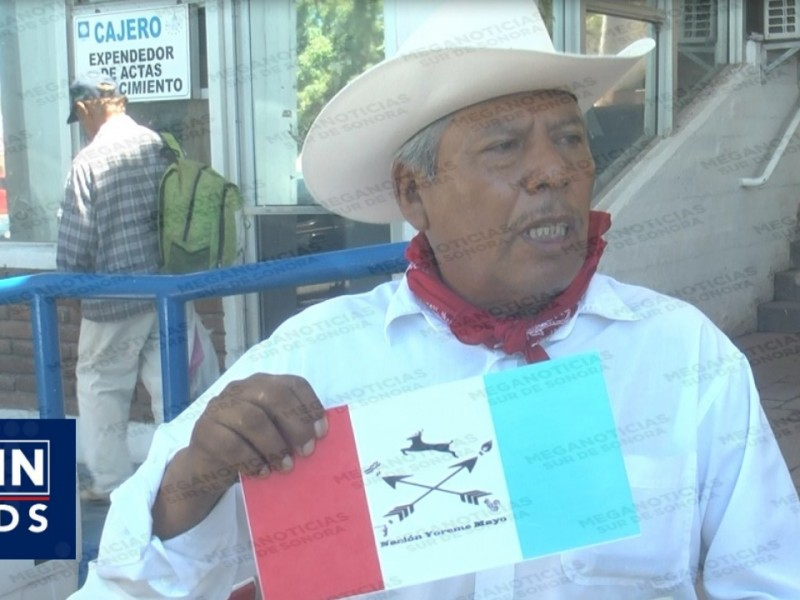 Utilizarán placas de la Nación Yereme Mayo