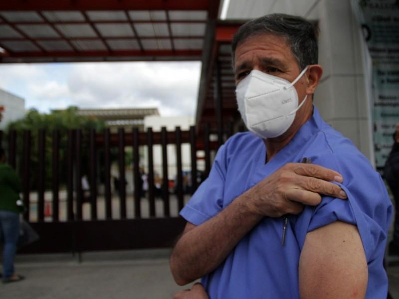 Va en un 21.5 por ciento Vacunación COVID en Chiapas