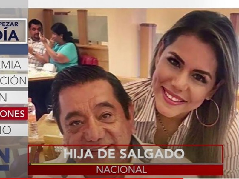 Va la hija... Evelyn Salgado, candidata a gubernatura de Guerrero