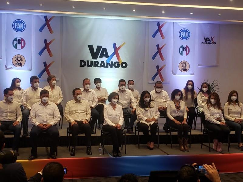 """Va x Durango"" presenta a sus candidatos a diputaciones"