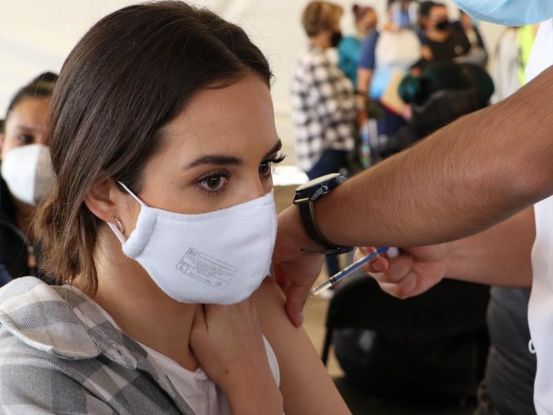 Vacunación de 30 a 39 en Iztacalco e Iztapalapa