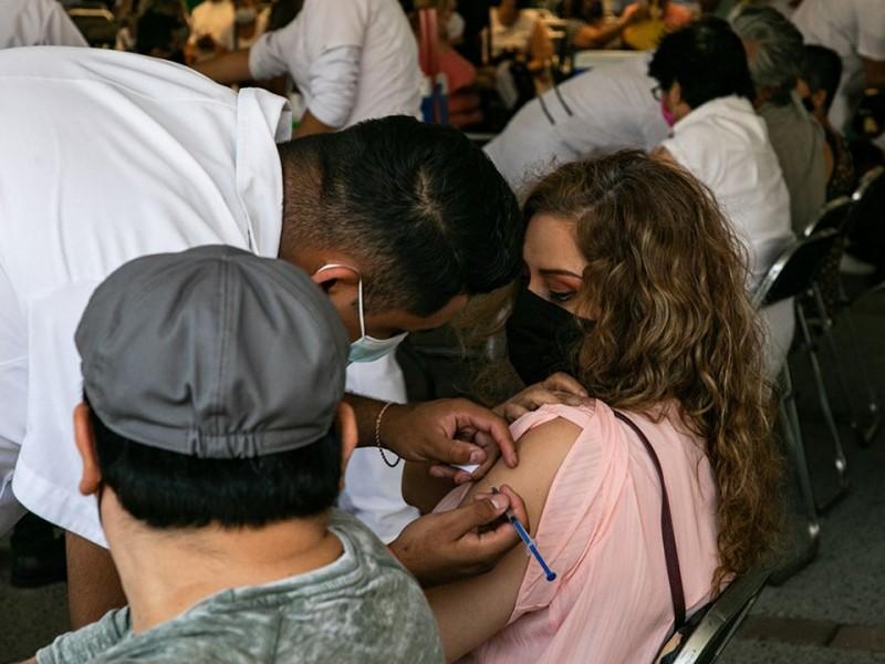 Vacunación de personas de 30 a 39 años en CDMX