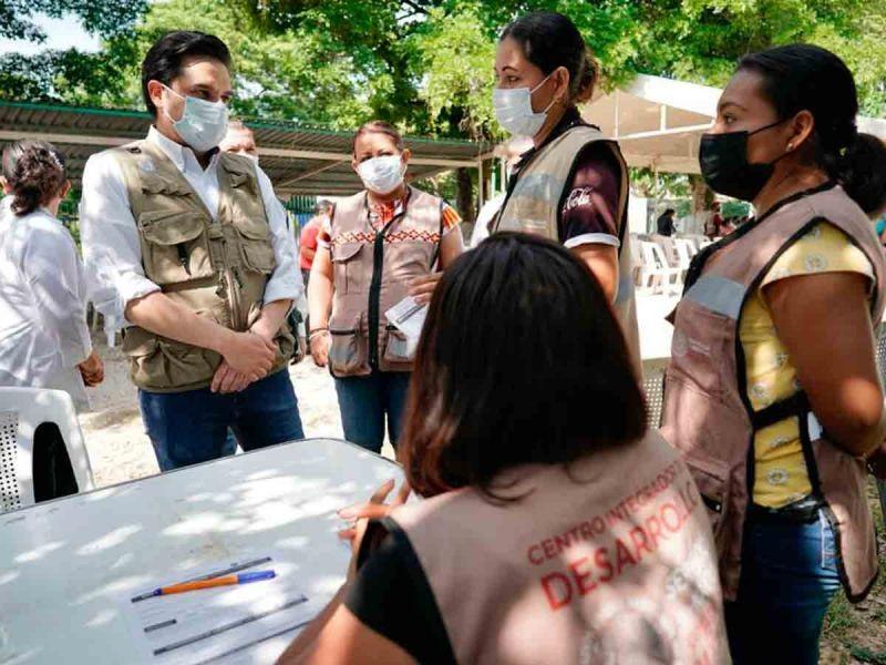 Vacunadas más de 100 mil personas en Chiapas