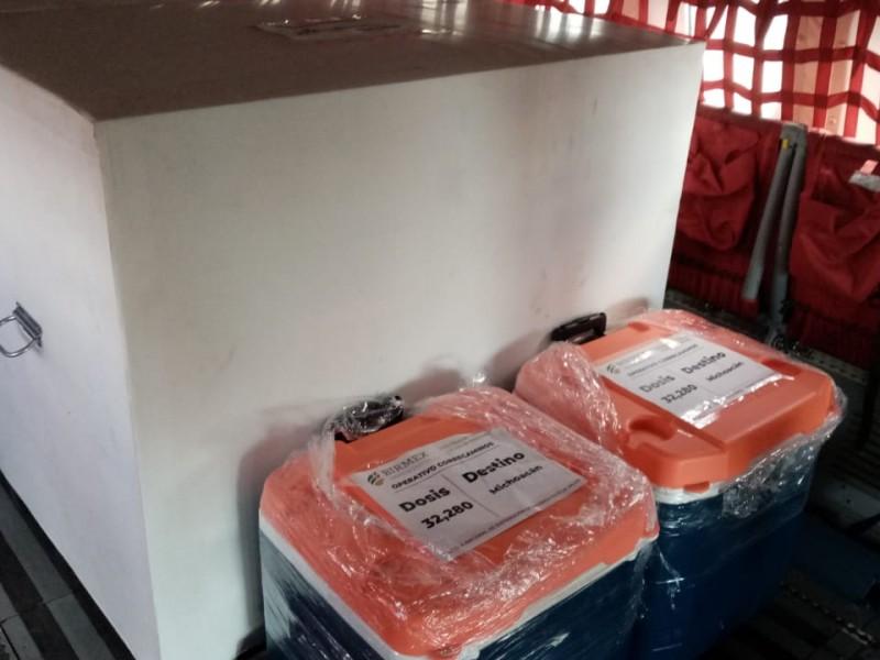 Valida Federación aplicación de vacuna Sinovac enviada a Michoacán