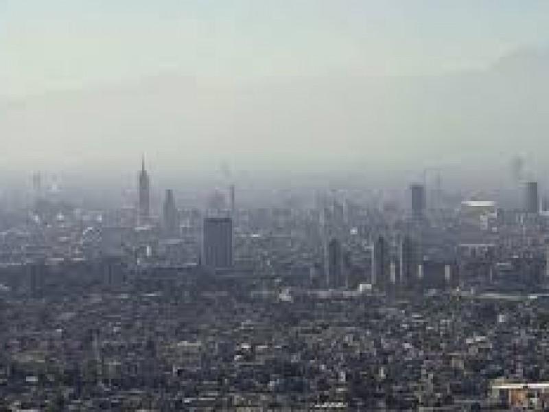 Valle de México con calidad del aire regular