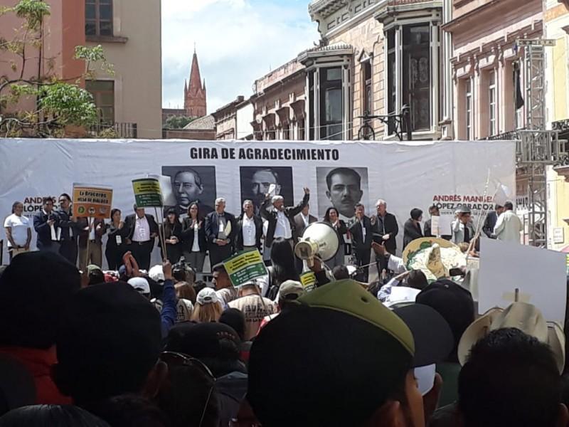Vamos a serenar Zacatecas: AMLO