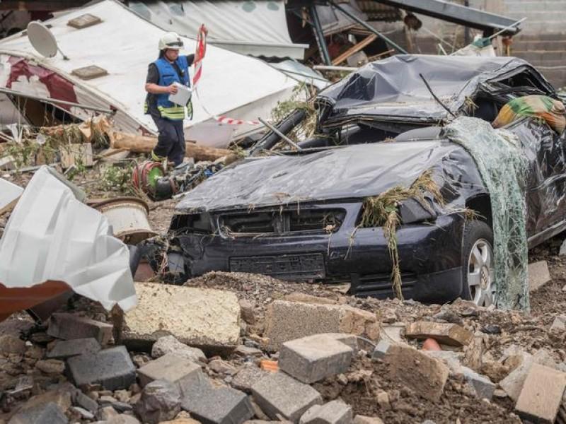 Van 165 muertos por históricas inundaciones en Alemania