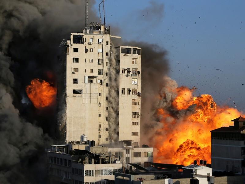 Van 227 muertos en Gaza por bombardeos de Israel