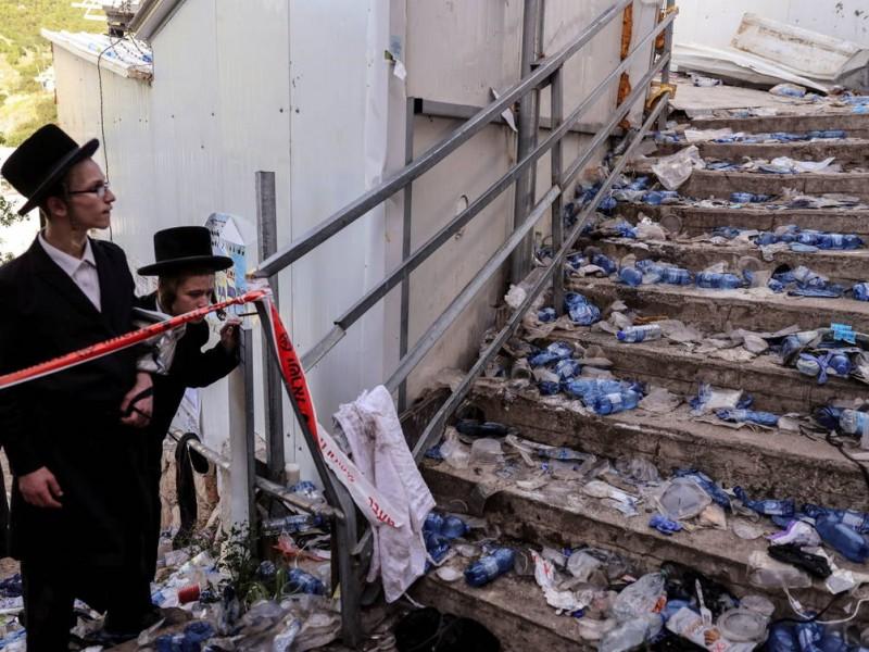 Van 45 muertos por estampida en Israel