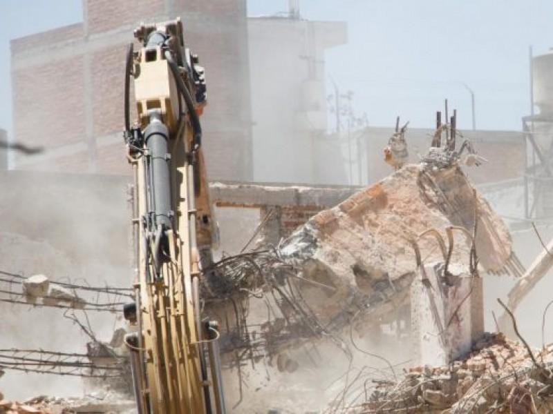 Van 78 inmuebles demolidos tras terremoto de 2017