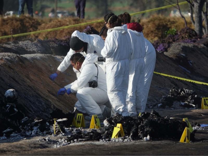Van 89 muertos por explosión en ducto