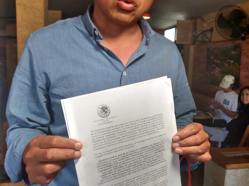 Van contra el Tren Maya en Chiapas, buscarán amparo