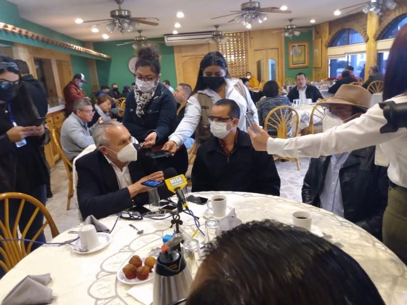 Van por reinstalación de líder sindical e ilegalidad de Satag