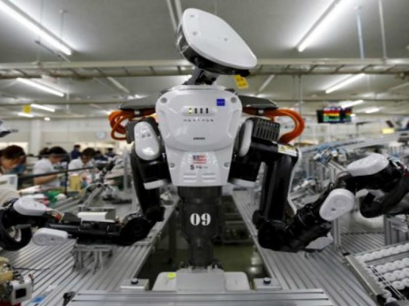 Van robots contra humanos en la industria