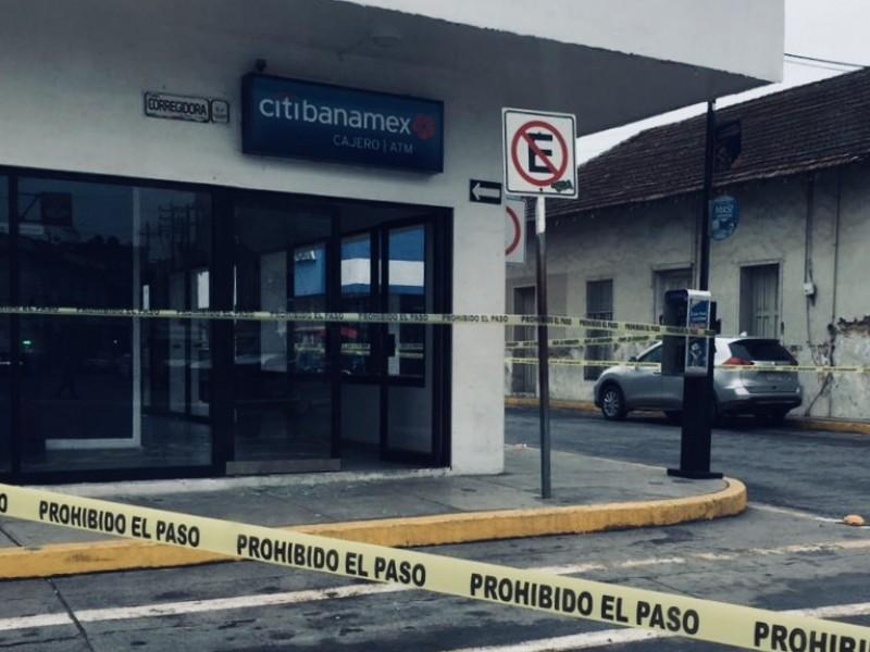 Vandalizan sucursal bancaria en Tuxpan
