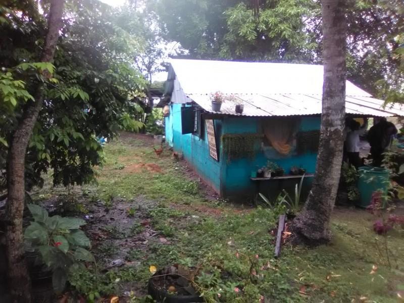 Varías comunidades y colonias afectadas por lluvia