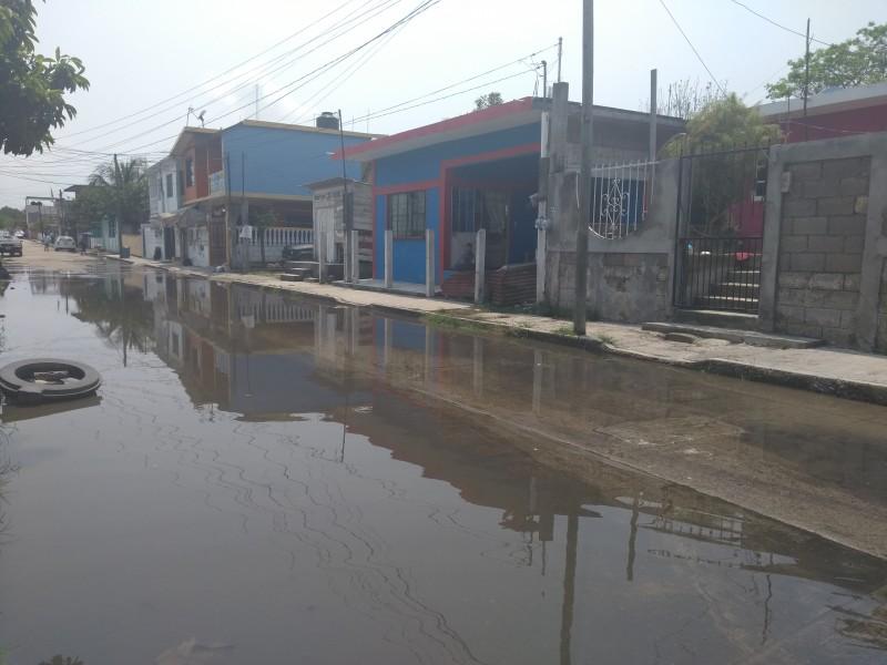 Varías familias afectadas por lluvia