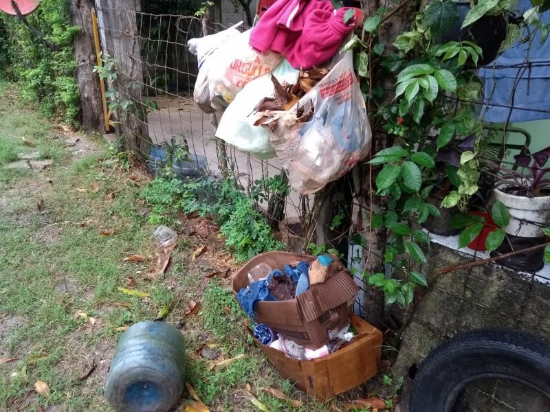 Se acumula basura en colonia Rodríguez Cano